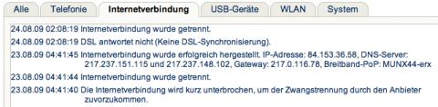 DSL-Exitus Screenshot