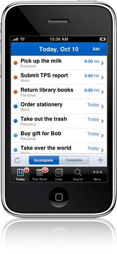 RTM auf dem iPhone