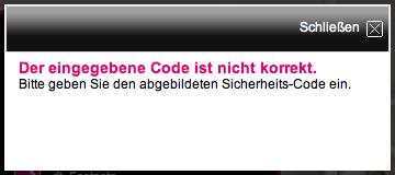Code nicht korrekt?!