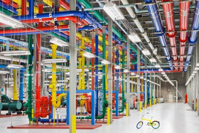 Wasserleitungen im Google-RZ in Douglas County, Georgia