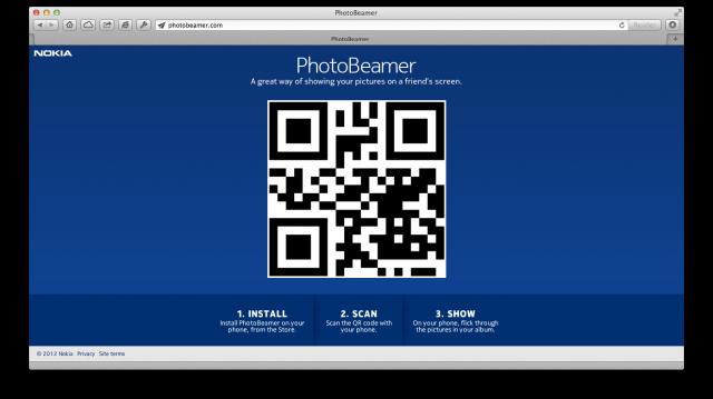 QR-Code auf photobeamer.com