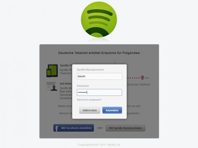 Spotify-Telekom: Erledigt