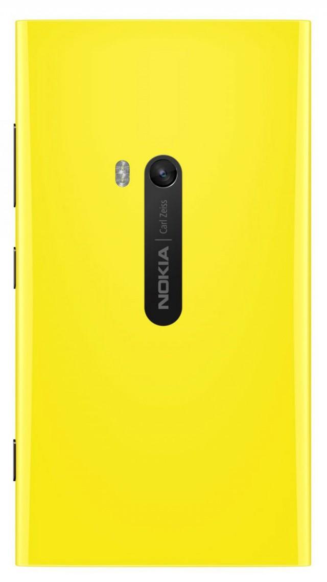 Nokia Lumia 920 gelb Rückseite