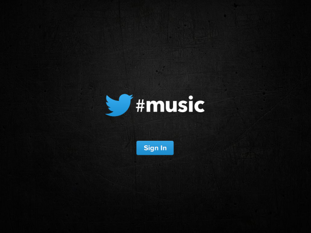 music.twitter.com Screenshot