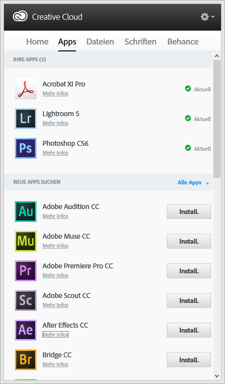 AAM becomes Creative Cloud