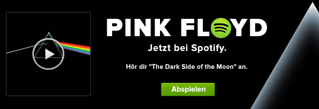 Pink Floyd jetzt bei Spotify