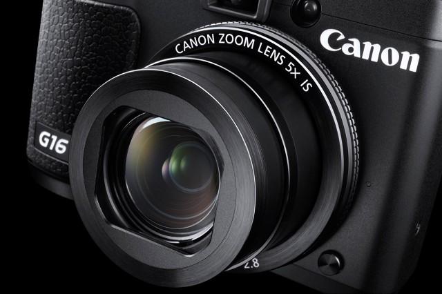 Canon Powershot G16 Objektiv Detail