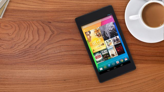 Google 2013 Nexus 7 lifestyle