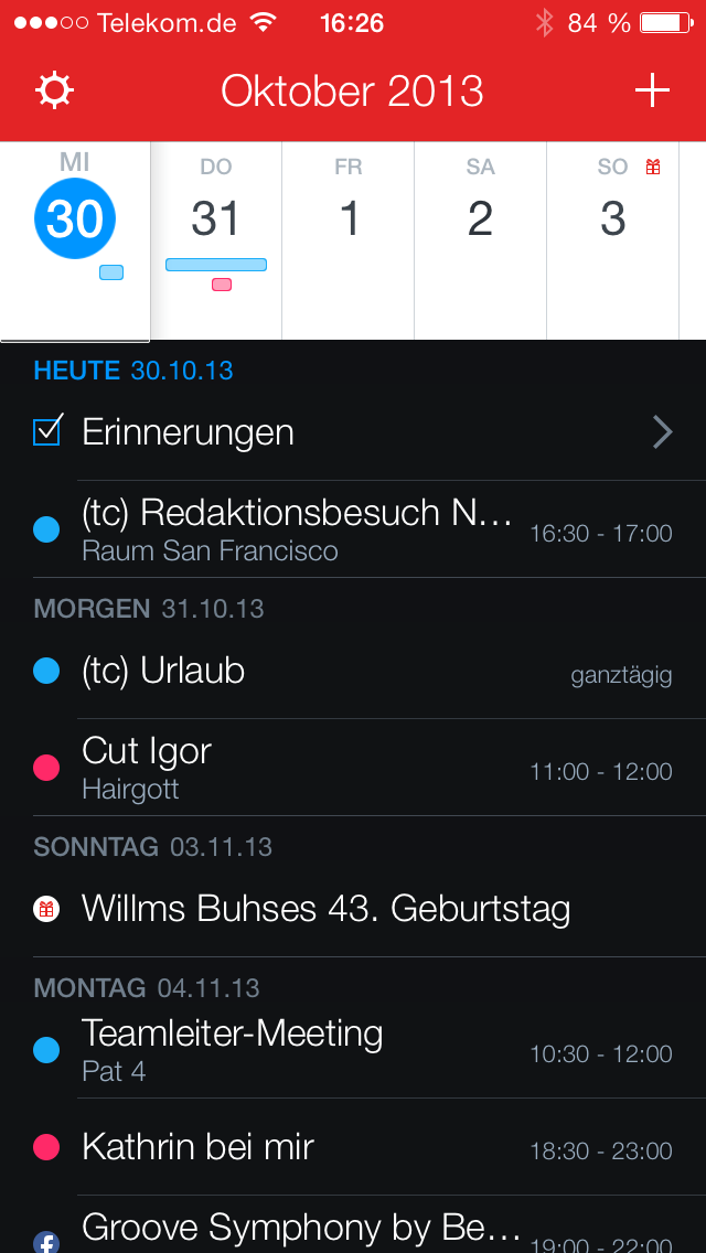 Fantastical 2 Screenshot