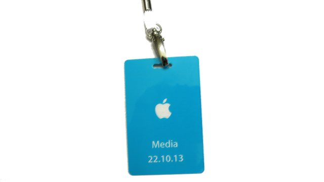 Apple Media Event Badge