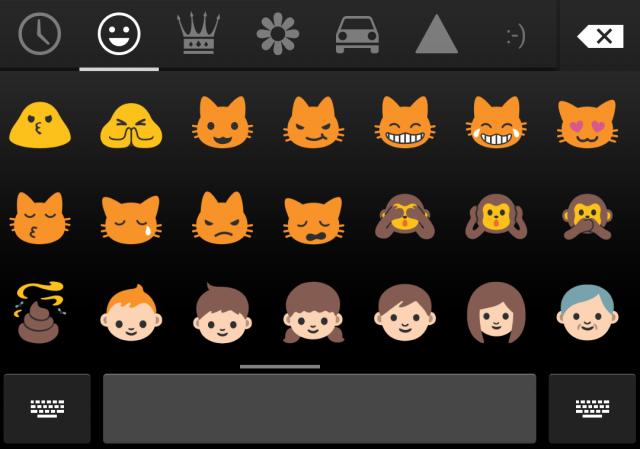 Android KitKat Emojis