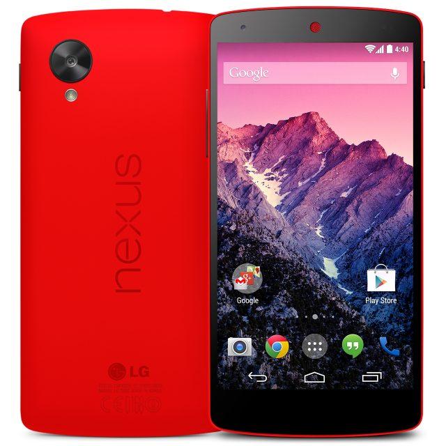 Rotes Nexus 5