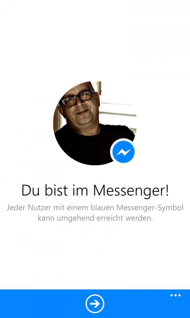 FB Messenger WP8