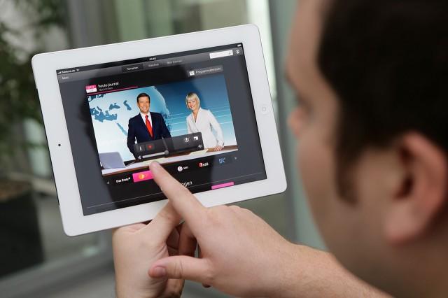 Entertain to go auf iPad
