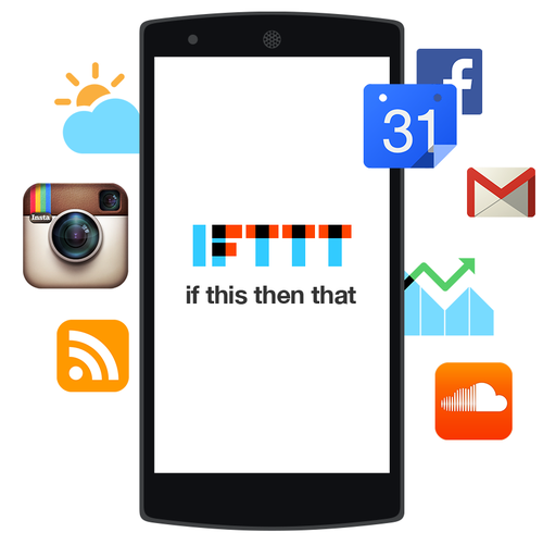 IFTTT Android Visual
