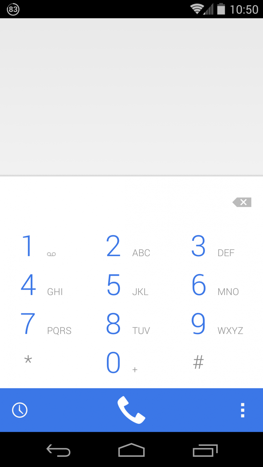Android 4.4.3 Telefonie Screenshot Nexus 5
