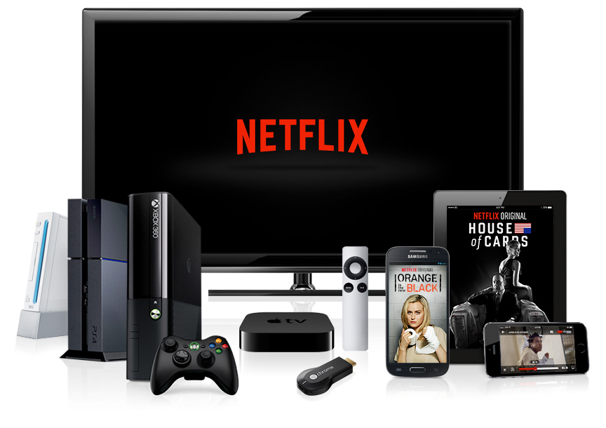 Netflix Streaming-Optionen