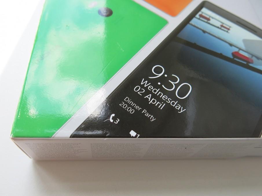 Lumia 930 Schachtel Detail