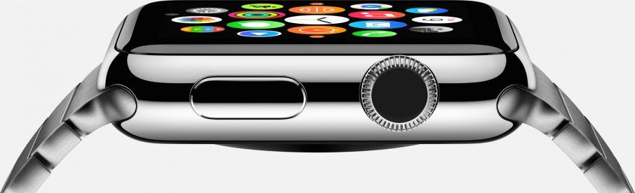 Apple Watch, Krone im Detail