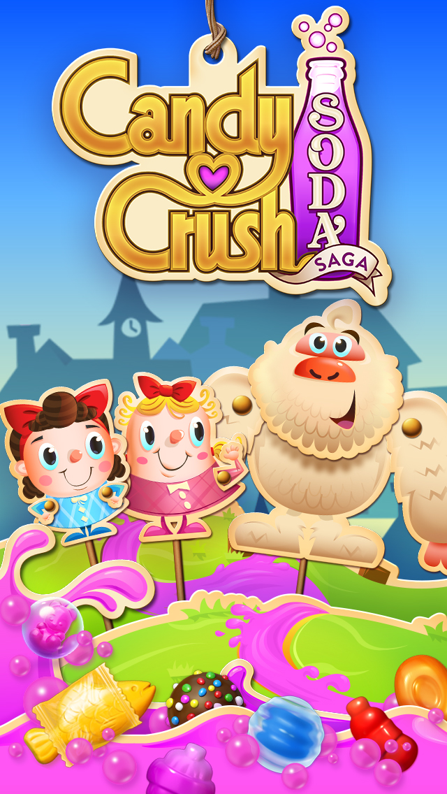 Candy Crush Soda Saga Brand Graphic