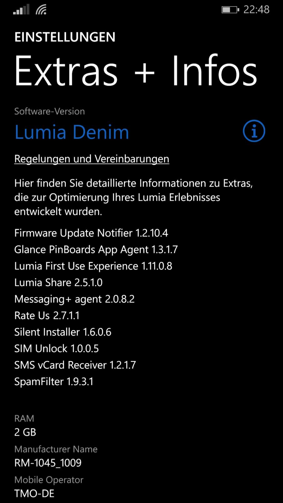 Lumia 930, Extras + Info