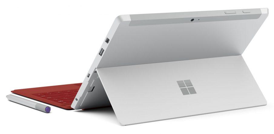 Surface 3, seitlich von hinten