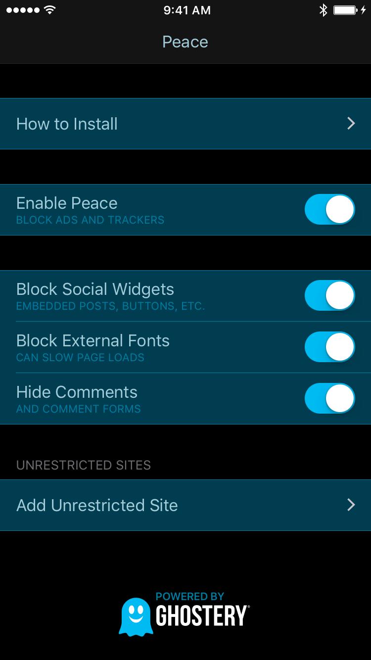 Peace Screenshot