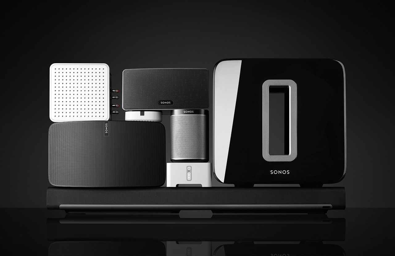 Sonos-Lineup, Stand 1Q16